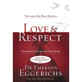 Love and Respect, by Dr Emerson Eggerichs, Hardcover