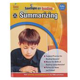 Carson-Dellosa, Summarizing Resource Book, Spotlight on Reading, Reproducible Paperback, Grades 5-6
