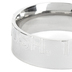 Spirit & Truth, Joshua 1:9, Courageous, Men's Ring, Stainless Steel, Silver, Size 10