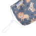 Stephen Joseph, Wild Animal Face Mask for Kids, Cotton, 6 1/2 x 4 1/4 inches