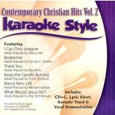 Contemporary Christian Hits Volume 2, Karaoke Style, As Made Popular by Various Artists, CD+G