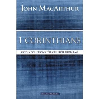 1 Corinthians, MacArthur Bible Studies Series, by John F. MacArthur, Paperback