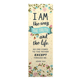 Salt & Light, John 14:6 I Am The Way Bookmarks, 2 x 6 inches, 25 Bookmarks