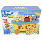 Fisher-Price, Little People Noahs Ark Play Set, 10 Pieces, Ages 1 to 4