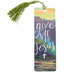 Salt & Light, Give Me Jesus Tassel Bookmark, 2 1/4 x 7 inches