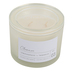 Cleanse Frosted Glass Jar Candle, White, 10 Ounces, 4 1/4 x 3 1/2 Inches