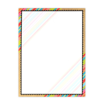 TooCute Collection, Letterhead, 8.5 x 11 Inches, 50 Sheets