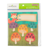 Woodland Tails, Mini Incentive Charts, Multi-Colored, 4.75 x 6 Inches, 36 Count