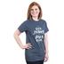 Paws & Praise, Dog Mother Jesus Lover, Women's Short Sleeve T-Shirt, Dark Heather, Small