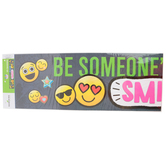 Pop Mania Collection, Be Someone's Reason To Smile Banner, 5 feet, Multi-Colored, 1 Piece