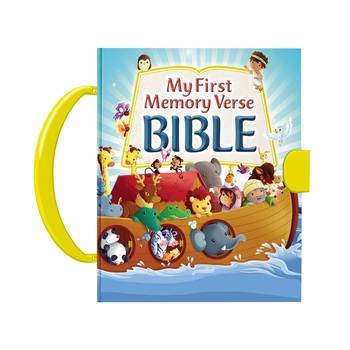 My First Memory Verse Bible, by Thomas Nelson, Board Book