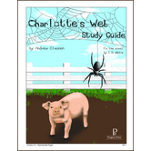 Progeny Press, Charlotte's Web Student Study Guide, Paperback, 55 Pages, Grades 4-6