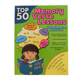 RoseKidz, Top 50 Memory Verse Lessons with Games and Activities, Paperback, 208 pages, Ages 5-10