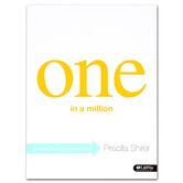 One In A Million Bible Study Book: Journey to Your Promised Land, by Priscilla Shirer, Paperback