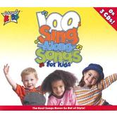 100 Sing-Along-Songs for Kids, by Cedarmont Kids, 3 CD Set