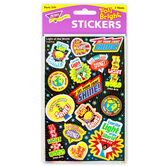 TREND enterprises, Inc., Light of the World Foil Bright Stickers, Multi-Colored, Pack of 30
