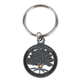 CTA, Inc., Matthew 17:20, Mustard Seed Keyring, Pewter, Silver, 1 1/4 inches