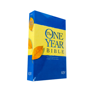 KJV One Year Bible: 365 Daily Readings, Paperback