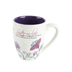 Pavilion Gift, Sister-in-Law Coffee Mug, Stoneware, Purple and White, 20 ounces