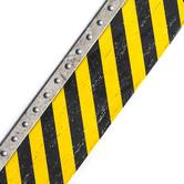 Teacher Created Resources, Under Construction Straight Border Trim, 35 Feet, Black and Yellow Diagonal Stripes