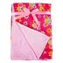 Stephen Joseph, Butterfly and Flower All Over Print Blanket, Polyester, 50 x 36 inches