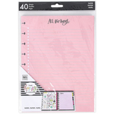 MAMBI, The Happy Planner®, Colorful Classic Note Filler Paper, 40 sheets