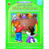 Carson-Dellosa, Dot-to-Dot Bible Pictures, Reproducible, 32 Pages, Grades 1-3