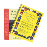 A Helping Hand, State History from a Christian Perspective Arkansas Set, Grades 3-12