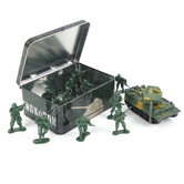 Tank In A Box Play Set, 13 Pieces