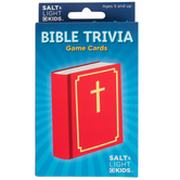 Salt & Light, Bible Trivia Card Game, Ages 5 and Older, 58 Cards