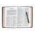 KJV Premium Reference Bible, Giant Print, Goatskin Leather, Black