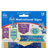 Carson-Dellosa, Galaxy Motivational Signs Bulletin Board Set, 18 Pieces