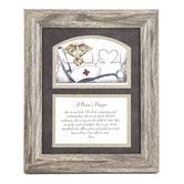 Carson Home Accents, Nurse Framed Prayer, PVC, 12 x 10 inches