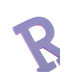 Glitter Foam Alphabet Letter Upper Case - R, 4 x 5.5 x .50 Inches, 1 Each, Assorted Colors
