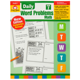 Evan-Moor, Daily Word Problems Teacher's Edition, Paperback, 128 Pages, Grade 2
