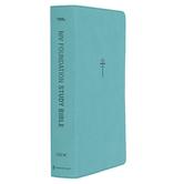 NIV Foundation Study Bible, Imitation Leather, Teal