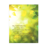 DaySpring, The Lord Bless Thee Note Cards, 10 Cards with Envelopes