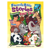 RoseKidz, Favorite Bible Stories Activity Book, Reproducible, Paperback, 96 Pages, Ages 2-3