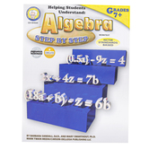 Carson-Dellosa, Helping Students Understand Algebra Worktext, Reproducible, 128 Pages, Grades 7-12