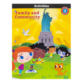BJU Press, Heritage Studies 1 Student Activity Manual, Family and Community, 4th Edition, Paperback, Grade 1