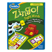 ThinkFun, Zingo Sight Words, Ages 4 and Older, 2 to 6 Players