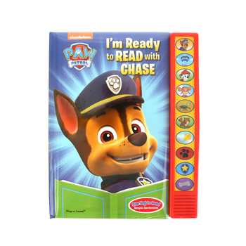 PAW Patrol, I'm Ready to Read with Chase, Sound Book