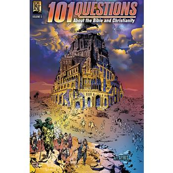 101 Questions About The Bible and Christianity: Volume 5, by Art Ayris, Comicbook