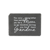 Only Thing Better Table Plaque, Slate, Black, 6 1/2 x 4 1/2 inches