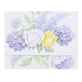 Carol Wilson, Roses and Hydrangeas Note Card Portfolio, 10 Cards with Envelopes