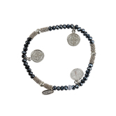 Alexa's Angels, Saint Benedict Stretch Bracelets, Assorted Styles, 7 inches