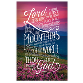 Salt & Light, Lord, Thou Hast Been Church Bulletins, 8 1/2 x 11 inches Flat, 100 Count