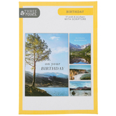 ThreeRoses, Outdoor Adventure Birthday Cards, 12 count
