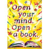 Open Your Mind - Motivational Poster