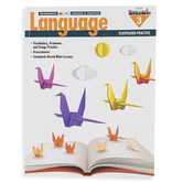 Newmark Learning, Meaningful Mini-Lessons and Practice Language Resource Book 3, 180 Pages, Grade 3